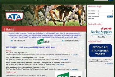 Australian Trainers Association